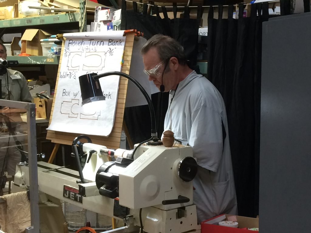 Demonstration and Project Handouts – Mike Peace Woodturning